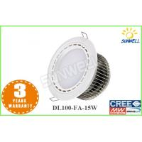 Buy cheap Replace halogen High Lumen Led Downlight 15W for bar / house / shopping centre from wholesalers