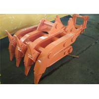 Wholesale Seven Tooth Rotate Wood Grapple / Timber Grapple for Hitachi EX230 Excavator from china suppliers