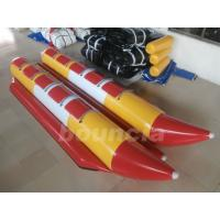 Wholesale Commercial Grade Children Inflatable Banana Boat Used In Lake from china suppliers