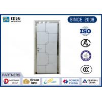Wholesale High Strength White Insulated Fire Door With Wooden Leaf Impact Resistance from china suppliers