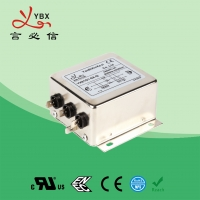 Wholesale Metal 3 Phase Inverter EMI Filter 8A 380V 440V Input CE Certification from china suppliers