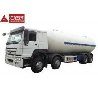 Wholesale Euro II Propane Tank Trailer , Anhydrous Ammonia Transport Trailers Low Emission from china suppliers