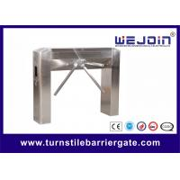 Wholesale Semi auto tripod entrance turnstiles gate with Mechanism , Arc bridge Type from china suppliers