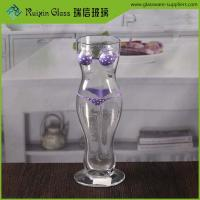 Wholesale 500 ml cheap woman shape beer glass customised novelty bikini sexy beer glasses from china suppliers
