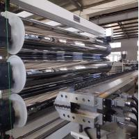 China Geomembrane / Geocell Sheets Pe Extrusion Line 0.4 - 3mm Sheet Thickness on sale