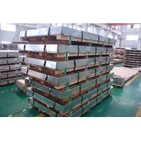 Wholesale 5MM DIN EN 304 Stainless Steel Sheets 4x8 , Customized Rolling Steel Kick Plate SGS from china suppliers