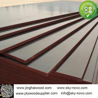 Wholesale Brown film face plywood 18mm shuttering boards/formwork from china suppliers