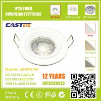 Die Cast Aluminium GU10 MR16 IP20 Fixed Downlight Fittings - White Color