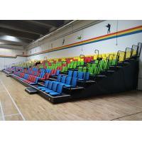 Wholesale Custom Designed Retractable Bleacher Seating Nose Mounted Spectator Bleacher from china suppliers