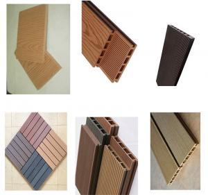 Wholesale Plastic Wood Composite PVC Profile Extrusion Line , Upvc Profile Extrusion Machine from china suppliers