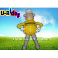Quality Commercial Grade Inflatable Advertising Products , Large Inflatable Advertising Man for sale