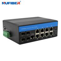 Wholesale CE 8 Port Poe Switch With 2 Sfp , Managed 8 Port Gigabit Ethernet Switch from china suppliers