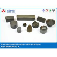 China ISO9001 14001 Shield Cutter Tungsten Carbide Blade Tips For Mining on sale