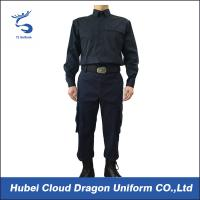 Buy cheap Long Sleeve Security Guard Uniform Adjustable Cuff , Law Enforcement Uniforms For Duty from Wholesalers