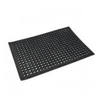 Wholesale Hollow Out And Anti-slipped Rubber Door Mat  With Customised Logo from china suppliers