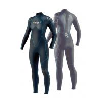 Wholesale OEM Wet Neoprene Surfing Suits 3mm Flatlock Fullsuit for for Women from china suppliers