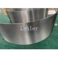 Wholesale Wedge Wire Sieve Bend Screen 120 Degree Angle For Dewatering And Drying Equipment from china suppliers