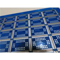 China Multilayer PCB Built On 1.6mm FR-4 With Plated Castellation on Edge on sale