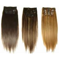 China Whole sale cheap clip in hair weft ,clip in hair extentions on sale