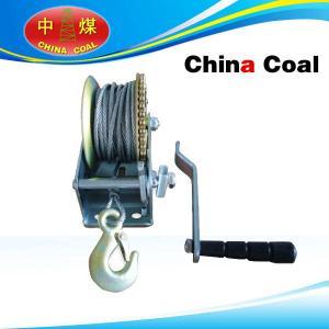 China windlass portable mini manual hand winch on sale
