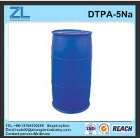 light yellow DTPA-5Na liquid stabilizer