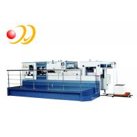 China Electronic Paper Die Cutting Machine High Strength Casting With Stripping Unit on sale