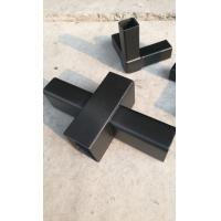 Wholesale carbon fiber square /rectangle /oblong/quadrate tube  used for building frame With joint from china suppliers