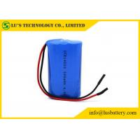 Wholesale IFR14500 6.4 V 500mah Battery Rechargeable Lithium Ion Battery Wires Terminals from china suppliers