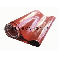 China Clear Color Corridors 500x500x3mm Silicone Rubber Sheet on sale
