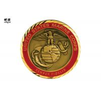 Wholesale Collectable Us Air Force Challenge Coins , Modern Commemorative Coin Collection from china suppliers