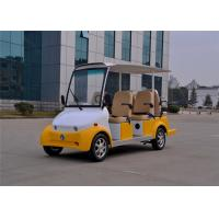 3.0KW Motor 6 Seater Electric Sightseeing Car For 6 Persons Pure Electric Power