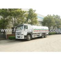 China Commercial 8000 Gallon Water Container Truck Heavy Duty 6x4 Alloy Frame on sale