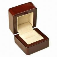 Wholesale Wooden Jewelry Box, Measures 85x98x92mm from china suppliers