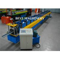 China Galvanized Metal Rain Gutter Profile Cold Rolling Forming Machine With Plc Control on sale