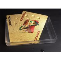 Wholesale Education Mosaic Playing Cards 0.35mm Thickness With Gold Certificate from china suppliers