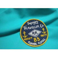 Quality Customized Silk / Nonwoven Embroidered Uniform Patches Military Hat Patches for sale