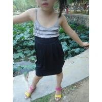 Wholesale Classy Summer Lovely Girls Pleated Dress , Black Girls Spaghetti Strap Dress from china suppliers