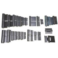 Wholesale welding hinge butt hinge, kinds of  iron gate weld on hinge, finishing:self color, zinc plating, steel materia from china suppliers