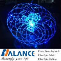 Wholesale LED floral orgran Optic Fiber Chandelier from china suppliers