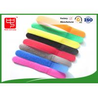 Wholesale 100% Nylon Water resistance Releasable Cable Ties , Colorful Hook and Loop Tape from china suppliers