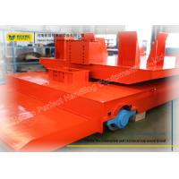 Wholesale Special Shaped Rail Transfer Cart Wagon With Polyurethane Solid Wheels from china suppliers