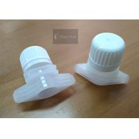 Outer Dia18mm HDPE Plastic Spout Cap For Liquid Doypack Packaging