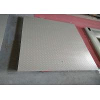 1.2 X 2m 5 Tons Heavy Duty Floor Scales , Single Deck Industrial Floor Scales Without Frame