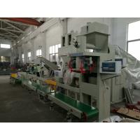 China Pneumatic Drive Auto Bagging Machines , Powder Bag Filling Machine With ReCheck Weigher on sale