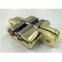 Wholesale Gold Plated SOSS Hidden Hinges , Zinc Alloy Concealed Gate Hinges 25kg Loading from china suppliers