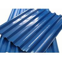 China 0.4 - 10mm Thick Color Coated Aluminum Corrugated Metal Roofing Sheets on sale