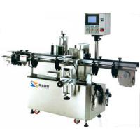China Vertical Round Bottle Positioning Label Sticker Equipment, Automatic Labeling Machine on sale
