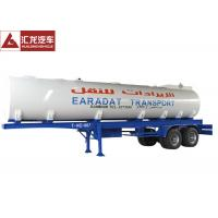 Wholesale Stainless Steel Milk Tank Trailer , Water Tanker Truck Trailer 40000l Multifunctional from china suppliers