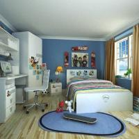 Buy cheap Kids'/Children's Bedroom Furniture, E0 Grade, MDF, Contains Desk & Chair, with from wholesalers