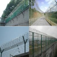 Buy cheap Razor Concertina Wire Packed With Pallet / High Tensile Barbed Wire from wholesalers